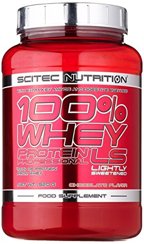 Scitec Nutrition Whey Protein Professional LS Schokolade, 1er Pack (1 x 920...