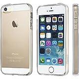 NOVAGO® Coque ultra transparente en gel souple pour iPhone 5, iPhone 5S, iPhone SE invisible