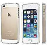 NOVAGO Coque ultra transparente en gel souple pour iPhone 5, iPhone 5S, iPhone SE...