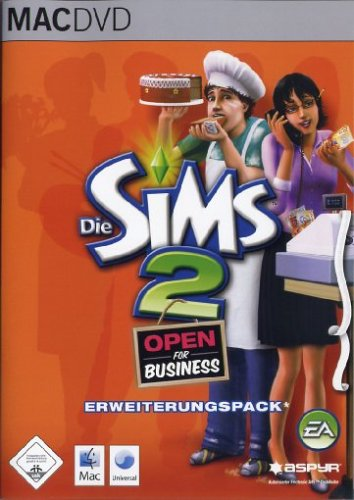 Die Sims 2: Open for Business – [Mac]