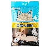 CJN Tofu-Katzen-Sänfte-Grüntee-Mais-Katzen-Sand-Haustier-Versorgungsmaterialien Ursprünglicher 6L Vakuumbeladener 2.7Kg Betriebssand,Greentea
