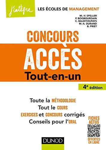 Concours Accès - 4e éd. - Tout-en-un
