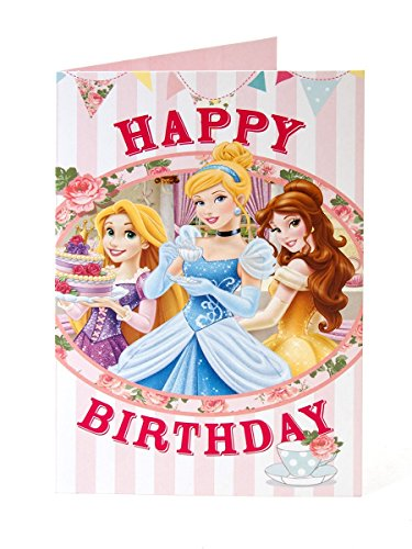 Disney Princess Happy Birthday Karte