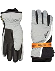 ZIENER Kinnia Gtx +Gore Warm Lady Guantes, Mujer, Gris, 7