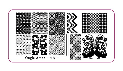 Plaque stamping 18 | ONGLE AMOR