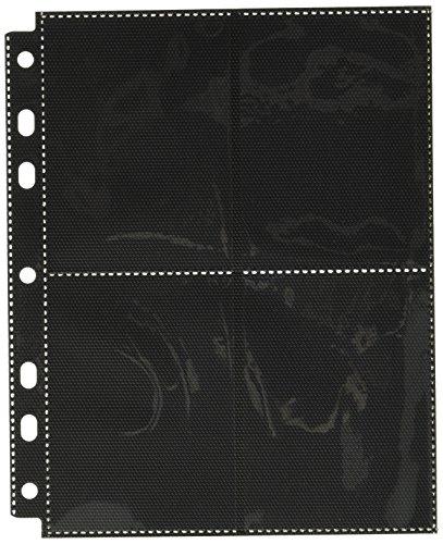 Ultimate Guard UGD010498 - 8-Pocket Compact Pages Side-Loading, schwarz (10)