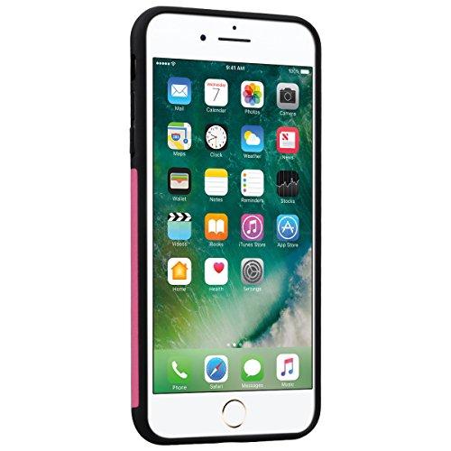 WE LOVE CASE iPhone 7 Plus Hülle Weich Silikon iPhone 7 Plus 5,5 Schutzhülle Handyhülle Im Spannung Schmetterling Braun Muster Handytasche Cover Case Etui Soft TPU Handy Tasche Schale Schlank Backcove Sonnenblume Rose