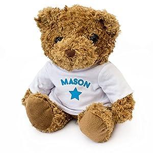 London Teddy Bears Oso de Peluche, diseño de Mason, Suave y Bonito, Regalo de cumpleaños, Navidad, San Valentín