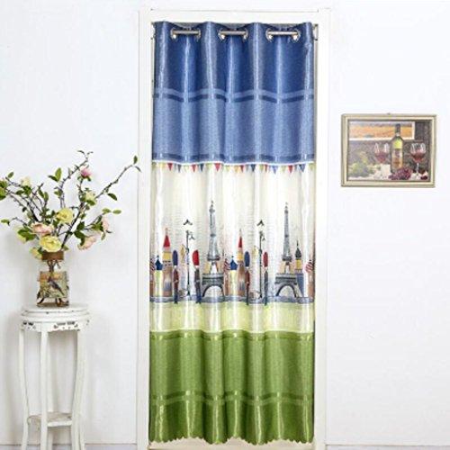 Liuyu · Lebendes Haus Tür Vorhang Vier Jahreszeiten abgeschnitten Tuch Schlafzimmer Wohnzimmer ländlichen langen Abschnitt Haushalt Vorhang ( größe : 200*150cm )