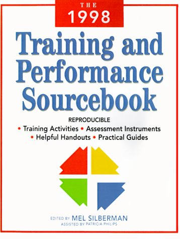 The 1998 Training and Performance Sourcebook