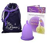 Me Luna Coupe menstruelle Classic, boule, Violet, Taille XL