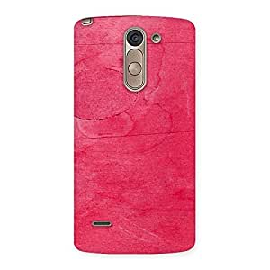 Cute Pink Wood Work Multicolor Back Case Cover for LG G3 Stylus