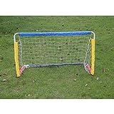 Jsqianchen Mini Goals Fußballtor Falten Kinder Erwachsene Familie Zimmer Indoor Outdoor Kombinierte Einfache Ziel (Color : 1)