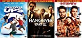 The Interview/Grown Ups 2/The Hangover 3