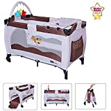 Star Ibaby Sleep & Play AC002 - Cuna de viaje plegable