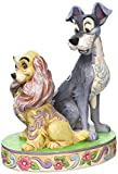 ENESCO Disney Tradition Opposites Attract (Lady & The Tramp 60th Anniversary Figur)