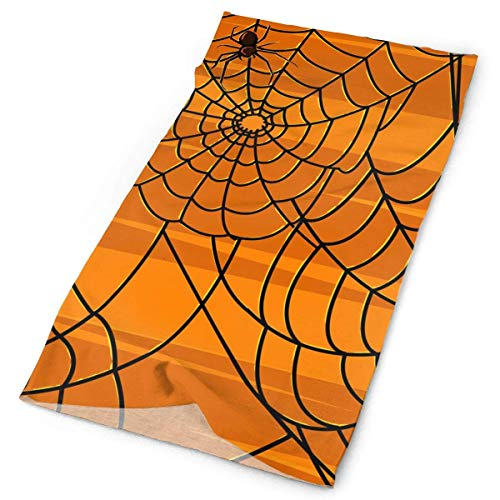 Happy Halloween Spider Web Stirnband Unisex Headwrap Magic Head Scarf Bandana Headwear Neck Scarf Polyester Do Rag Cap Fashion Headdress Foulard Face Mask Neck Gaiter