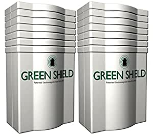 Green Shield Electromagnetic Pest Repeller Double Pack UK plug - Green Shield is a pest control product that we tested with an independent biologist and he proved it does what it says. Green Shield is cheap, easy to use, and completely humane. No mess, no nasty smells, and no dead creatures for you to clear up either.