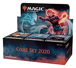 Magic The Gathering Core Set 2020 Booster Display (36 Packs) -Espanol (B3CBCF7306)