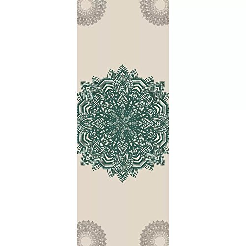 SLHP Reise Yogamatte 1mm | Extrem leicht, dünn, faltbar, rutschfest, waschbar 3-in-1 Matte Handtuch für Yoga Pilates (180x65cm / 70.9x25.6\'\', C)