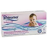 Rhinomer babysanft Meerwasser 5ml Einzeldosispipet 20X5 ml