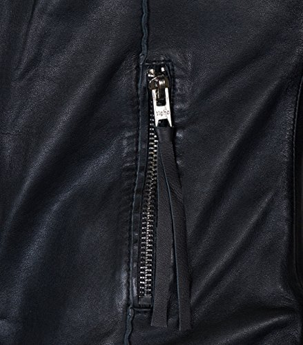 TIGHA Lederjacke Dakota in Schwarz – black, L black S - 4