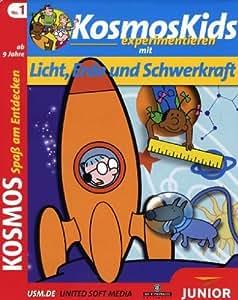 Kosmos Kids experimentieren mit Licht, Erde und Schwerkraft