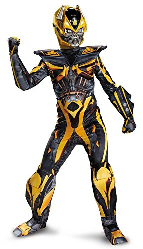 Bumblebee Transformers Kostüm Jungen - Transformers Bumblebee Prestige Child Kostüm (Medium)