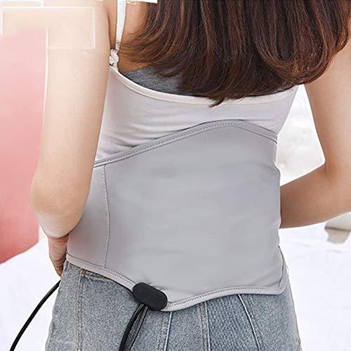 Preisvergleich Produktbild Elektrische Heizung Warme Moxibustion Heiße Kompresse Massage Bein Schulter Kalte Dame Warme Gebärmutter Bauch, Silber, 115x26cm