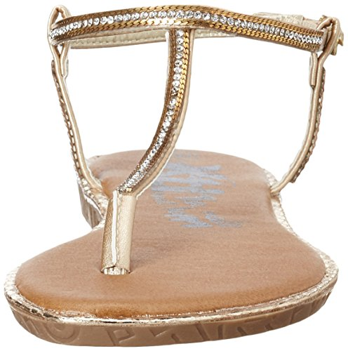 XTI - Gold Metallic Ladies Sandals ., Sandali Donna Oro (gold)
