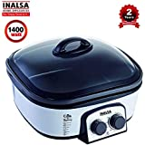 Inalsa Cook and Serve 1400-Watt Multi Cooker (Black/Grey)