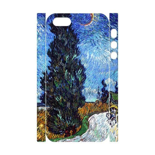LP-LG Phone Case Of Van Gogh For iPhone 5,5S [Pattern-6] Pattern-5