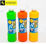 Zest 4 Toyz Bubble Gun Refill Liquid, 500ml (Multicolour)