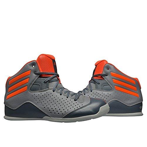 adidas NXT LVL SPD IV, Chaussures de Sport-Basketball Homme Gris (Gris / Rojsol / Onix)