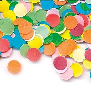 Folat Confeti Papel de colores//100Talla//Multicolour Confetti par