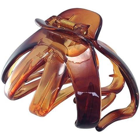 accessories-hair Clip para pelo Clips pulpo 8cm), color marrón