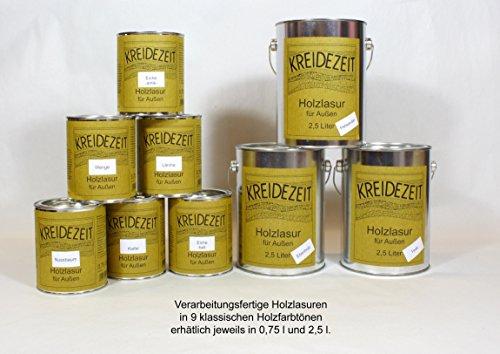 Holzlasur außen (2,50 Liter, Lärche)
