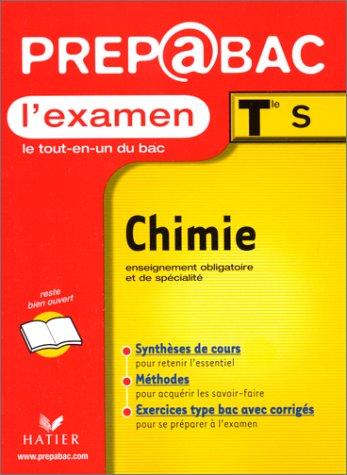 Chimie Terminale S. L'examen