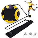 YOMYM Trainer da Calcio per Bambini e Adulti- Un Aiuto per Migliorare Il Controllo di Palla - Attrezzatura per L'Allenamento Individuale con Cintura Regolabile
