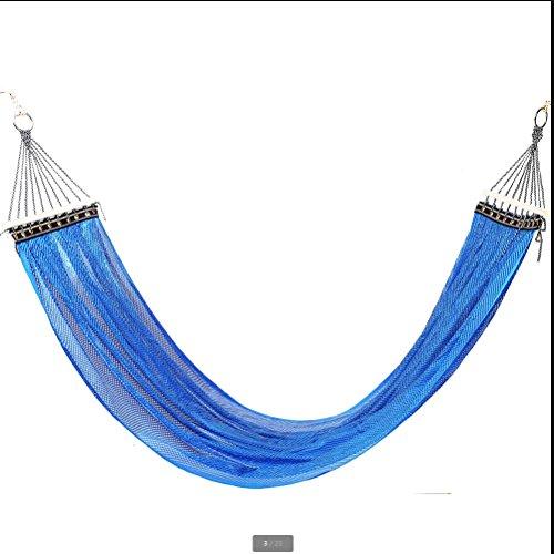 XY&CF en Plein air Glace en Soie hamac Enfant été Camping Swing Respirant hamac Maillage intérieur hamac 200 * 140 cm (Couleur : C)