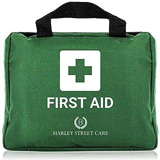 103 Teile Harley Street Care professionelle Erste Hilfe/ Notfallkasten. Umfassendes, hochwertiges, kompaktes & haltbares Erste-Hilfe-Set für Arbeitsschutz