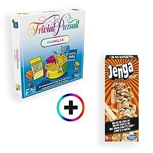 Hasbro Gaming - Trivial Pursuit Familia + Jenga Classic (Hasbro)