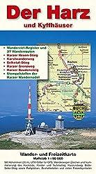 Der Harz und Kyffhäuser: Wander- und Freizeitkarte 1:50000
