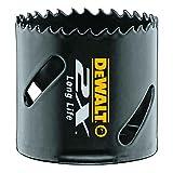 DeWalt Extreme 2X Bi-Metall Lochsäge (29 mm, zum Sägen von Edelstahl, Stahl, Aluminium, Messing, Kupfer, Zink, Blech, Holz, Gips und Kunstsoffen) DT8129L