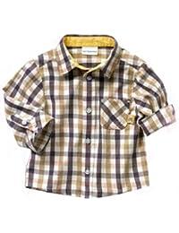 Sopo infantil niños Casual 3piezas (camiseta + camisa + pantalones Caqui) 1–5y