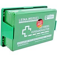 Betriebs Verbandkasten Erste Hilfe Koffer DIN13157 Grün mit Halterung Made in Germany preisvergleich bei billige-tabletten.eu