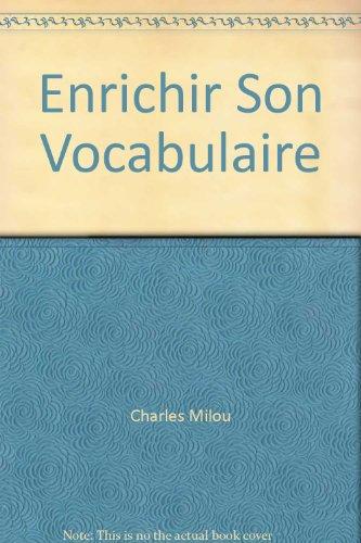 Enrichir son vocabulaire, CM1