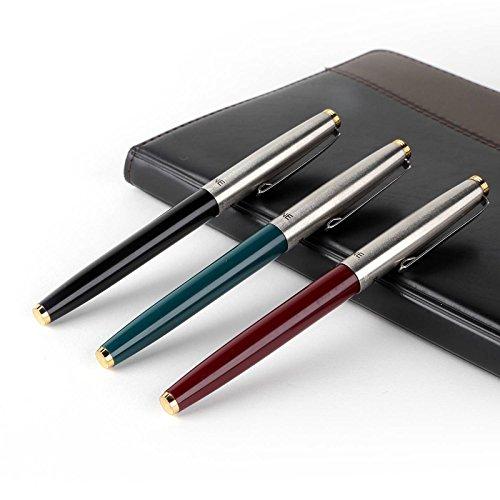 Características: diseño único y duradero. El mejor regalo para tus amigos o familiares. Aspecto elegante, ideal para coleccionar. Utiliza la misma marca de tinta/recambio (no incluido) para hacer tu escritura más suave. Bolígrafo de buena calidad, es...