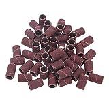 Impacco di fascette da 150 pezzi Ichy per manicure e pedicure per unghie 80# 120# 180#, 50 pezzi per ogni dimensione