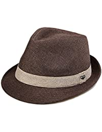 976e6ce6cea4d Sombrero de paja de verano Gorra de sol Hombre Gorra de playa plegable  unisex Beach Holiday